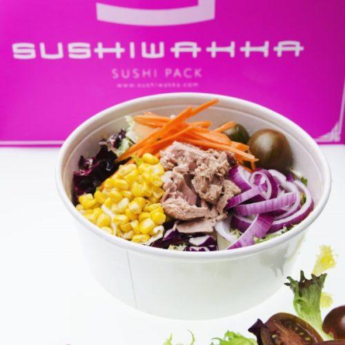 Fotografía gastronómica para publicidad impresa de Sushiwakka. Realización yellowroom.es